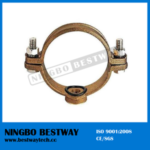 Economical Bronze Pipe Saddle Clamp Factory (BW-F07)
