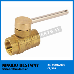 Locking Ball Valve with Key Fast Supplier (BW-L22)