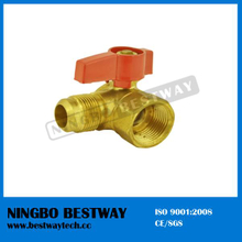 Brass 90 Degree LPG Gas Ball Valve (BW-USB09)