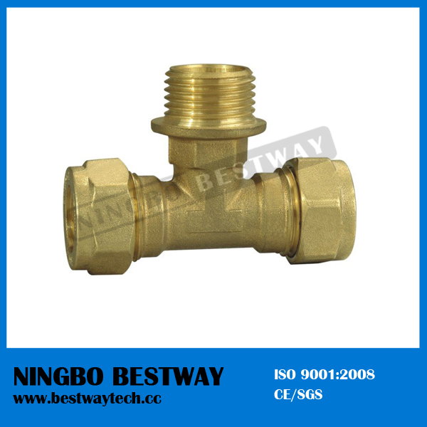 China Ningbo Bestway Brass Tee with High Quality (BW-507)