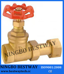 Brass Water Meter Gate Valve/Brass Gate Valve for Water Meter
