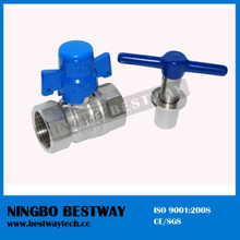 Hot Forged Brass Ball Valve with Lock for Water Meter