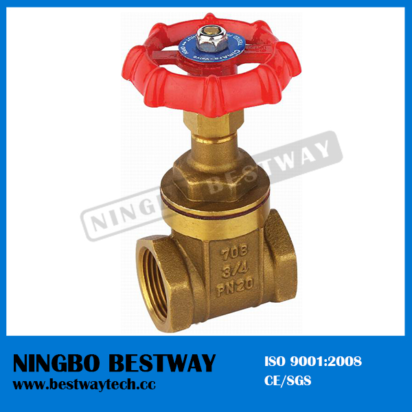 Full Port Barss Gate Valve with High Quality (BW-G02)