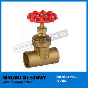 for Sale Brass Solid Gate Valve Manufacturer (BW-G08B)