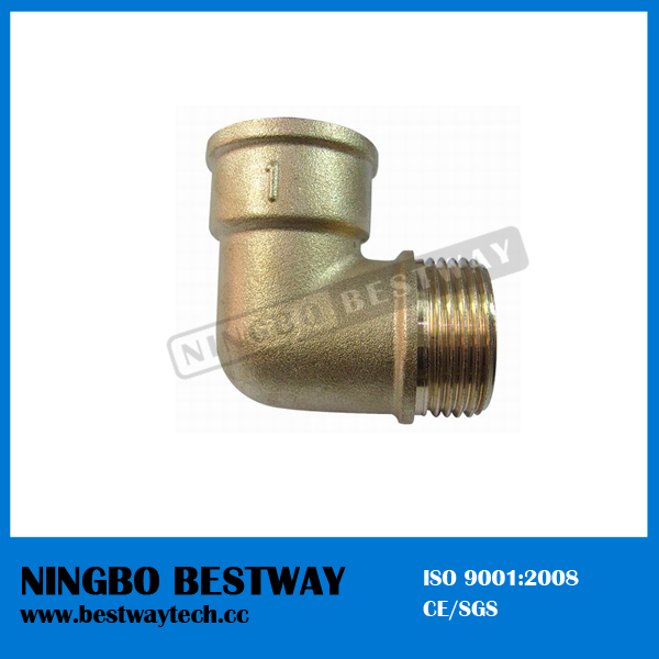 90 Degree Brass Elbow Fitting (BW--640)