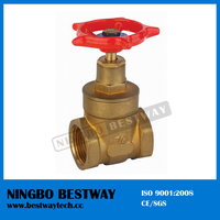 200wog Brass Gate Valve Price with Handles (BW-G04)