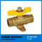 T Handle Male Ends Brass Gas Valve (BW-B134)