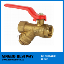 Brass Ball Valve with Strainer