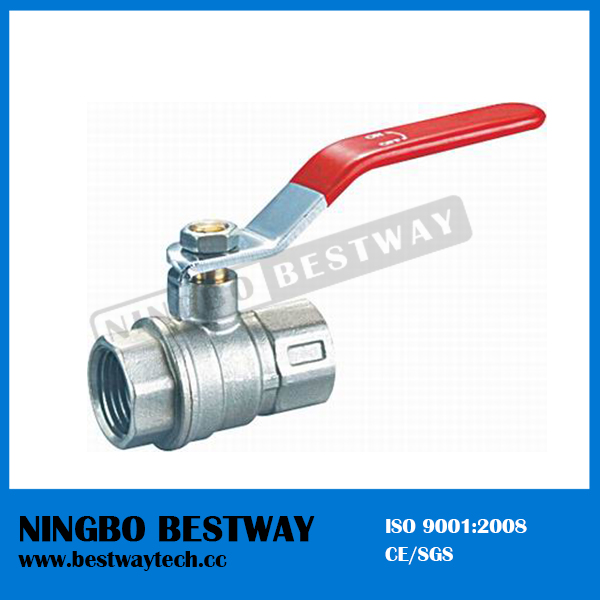 Ni Plated Brass Ball Valve with Iron Handles (BW-B20)