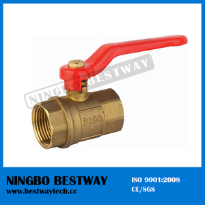 Threaded Brass Ball Valve with Iron Handles (BW-B10)