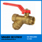 Brass Strainer Ball Valve with Filter (BW-B06)
