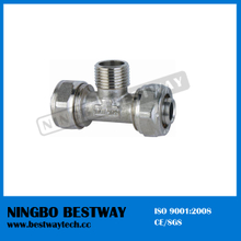 Brass Pex Pipe Fitting Tee for Sale (BW-408)