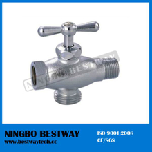 3 Way Angle Valve Nickel Plating for Washing Machine (BW-A43)