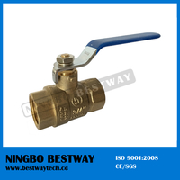 Lead Free Two-Piece Full Port Brass Ball Valve (BW-USB01)