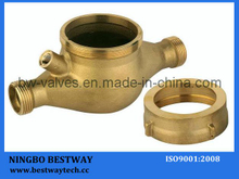 High Quality Dn15-Dn50 Brass Water Meter Body (BW-712)