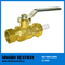 Lead Free Compression Ball Valve with Drain (BW-LFB08)