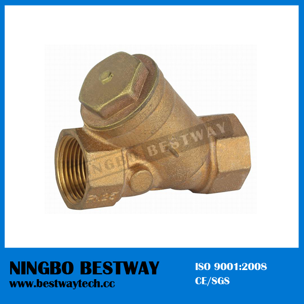 Bronze Y-Strainer Non Return Valve with Filter (BW-Q10A)