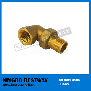 Brass Pipe Fitting Nipple Fast Supplier (BW-649)