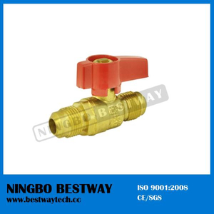 Hot Sale Brass Gas Ball Valve Fip X Flare (BW-USB08)
