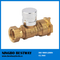 Magnetic Water Meter Lockable Ball Valve (BW-L16)