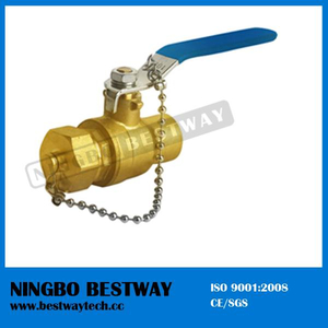Lead Free Brass Solder End Chain Ball Valve