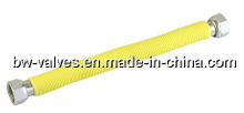 S/S Corrugated Flexible Gas Hose with Yellow PVC