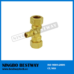 Lead Free Brass Pex Barb Tees for Pex Pipe