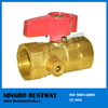 BWVA CSA certification high pressure 1/2 inch ball valve (BW-USB09)