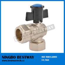 Brass Lockable Radiator Ball Valve (BW-L25)