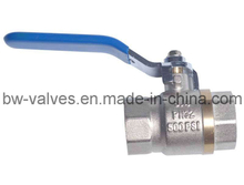 Nickel Plated Brass Ball Valves (BW-B61)
