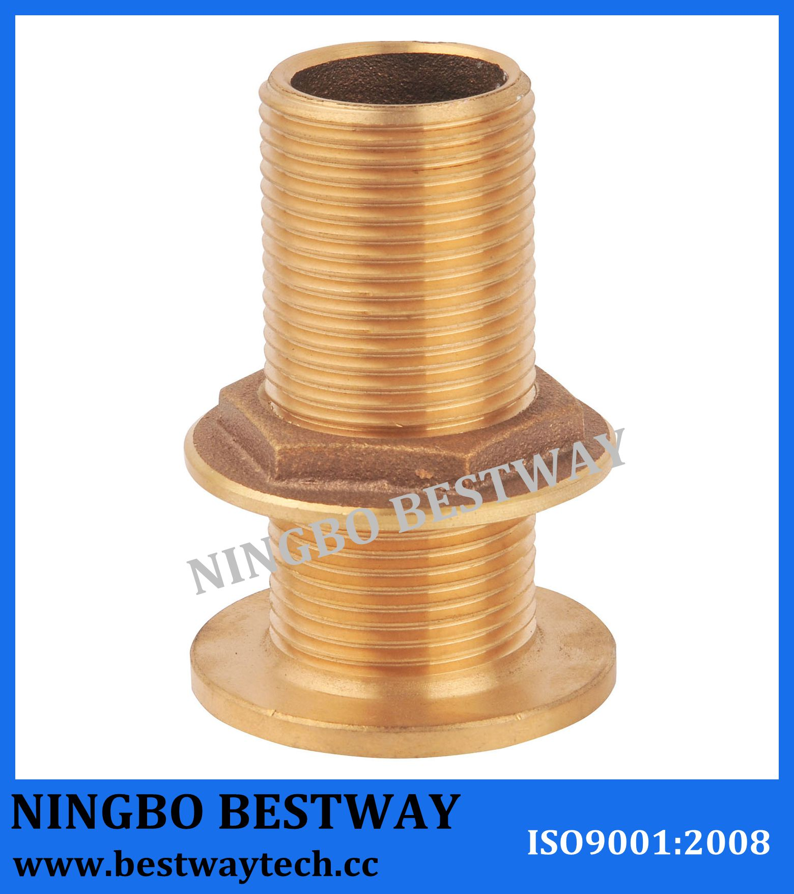 Bronze Skin Fitting for Marine /Bronze Water Tank Fittings