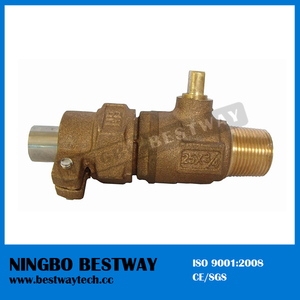 25mm Bronze or Brass Ball Valve for Water Meter (BW-Q13)