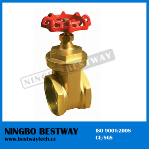 Female Thread Brass Gate Valve Direct Factory (BW-G06)