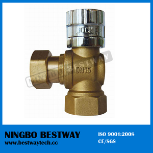 Brass Magnetic Lockable Ball Valve (BW-L06)