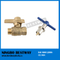 Good Reputation Factory better quality ball valve with locking handle (BW-L37)