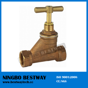 Hot Sale Bronze Water Stop Valve Price (BW-Q07)
