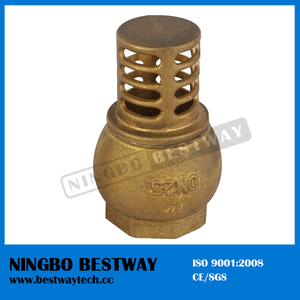 Brass Water Pump Foot Valve Stock (BW-C08)