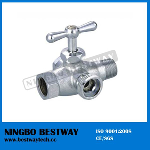 Brass Toilet Valve 4 Way Washing Angle Valve (BW-A45)