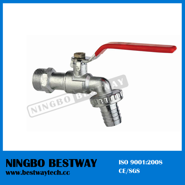 High Quality Zinc Bibcock with Steel Handle (BW-Z03)